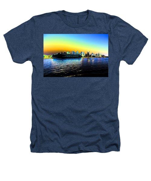 Sydney In Color Heathers T-Shirt by Douglas Barnard