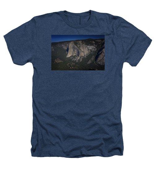 El Capitan  Heathers T-Shirt by Rick Berk