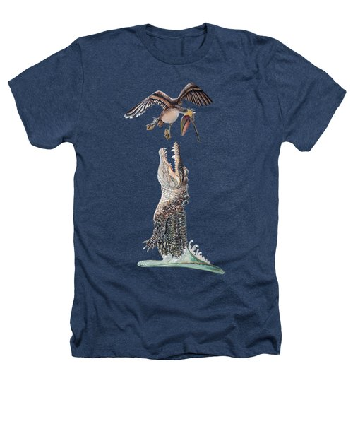 Florida Gator Heathers T-Shirt by Jennifer Rogers