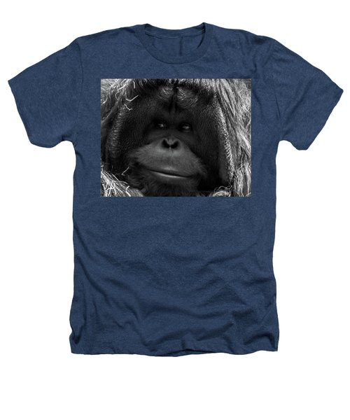 Orangutan Heathers T-Shirt by Martin Newman