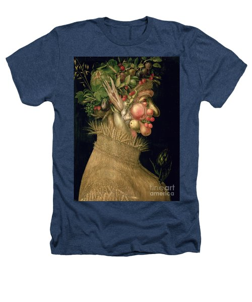 Summer Heathers T-Shirt by Giuseppe Arcimboldo