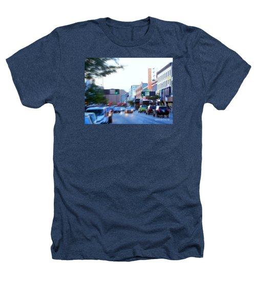125th Street Harlem Nyc Heathers T-Shirt by Ed Weidman