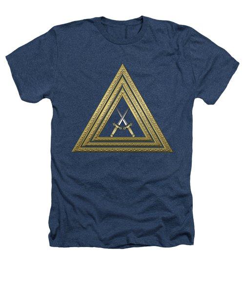 15th Degree Mason - Knight Of The East Masonic Jewel  Heathers T-Shirt