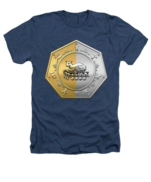 17th Degree Mason - Knight Of The East And West Masonic Jewel  Heathers T-Shirt