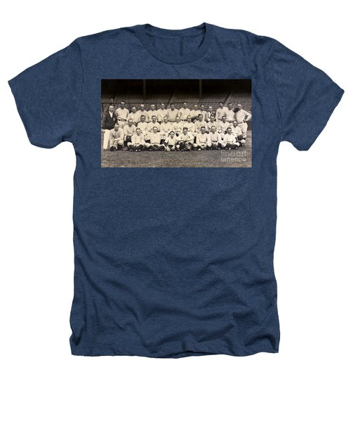 1926 Yankees Team Photo Heathers T-Shirt