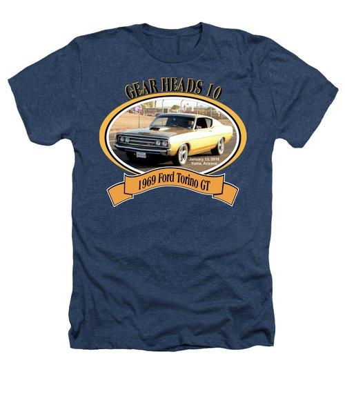 1969 Ford Torino Gt Salmon Heathers T-Shirt