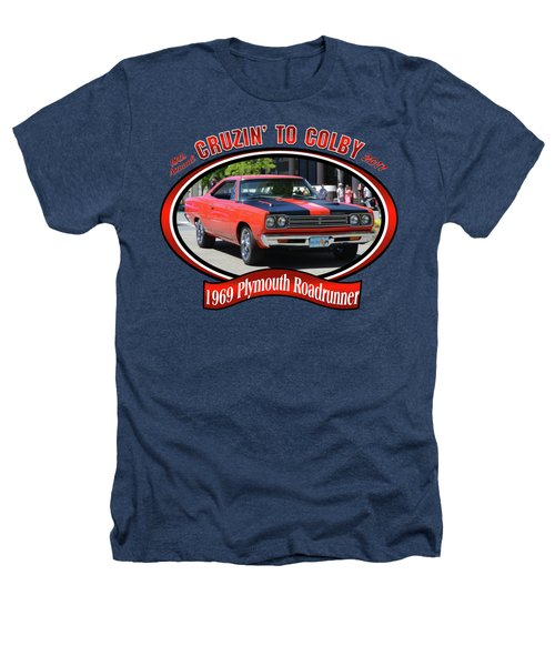 1969 Plymouth Roadrunner Masanda Heathers T-Shirt by Mobile Event Photo Car Show Photography