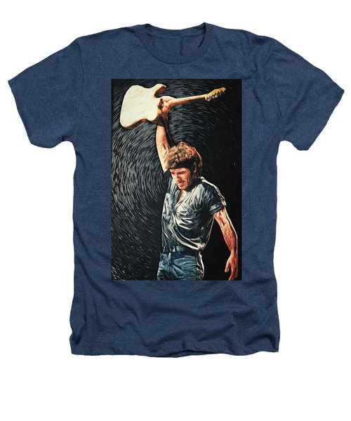 Bruce Springsteen Heathers T-Shirt by Taylan Apukovska
