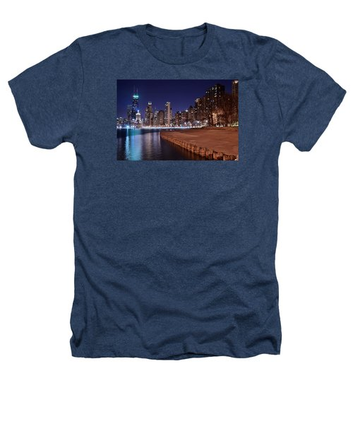 Chicago From The North Heathers T-Shirt by Frozen in Time Fine Art Photography