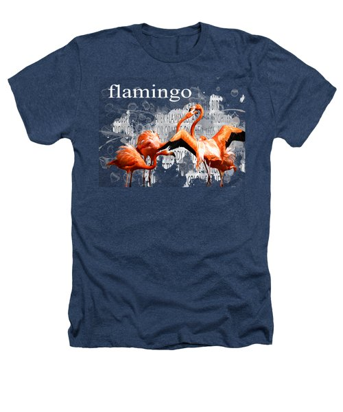 Flamingo Heathers T-Shirt by Methune Hively