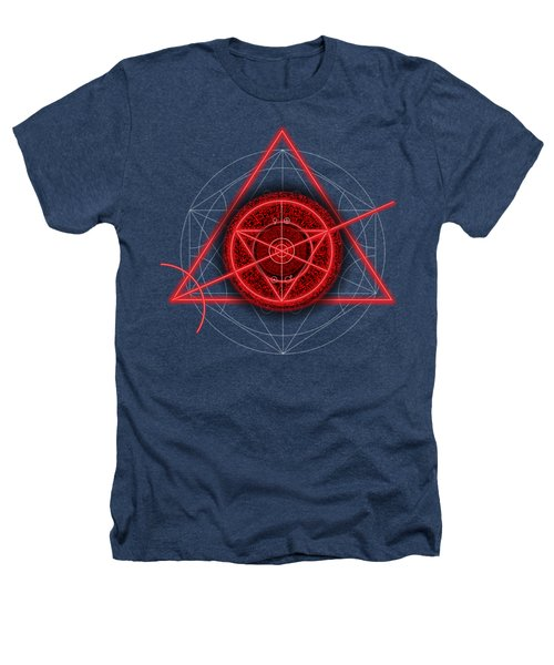 Occult Magick Symbol On Red By Pierre Blanchard Heathers T-Shirt by Pierre Blanchard