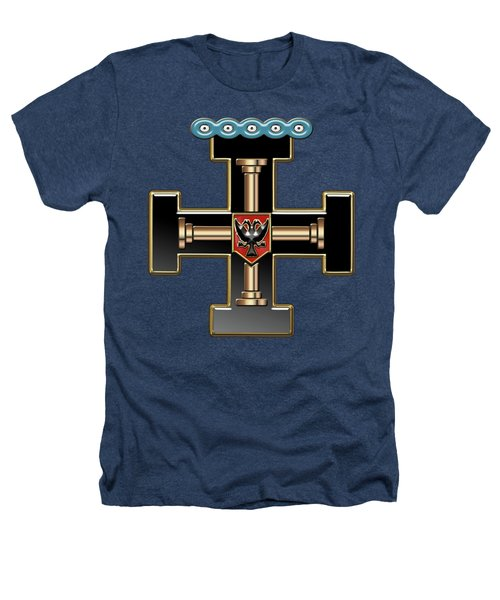 27th Degree Mason - Knight Of The Sun Or Prince Adept Masonic Jewel  Heathers T-Shirt by Serge Averbukh