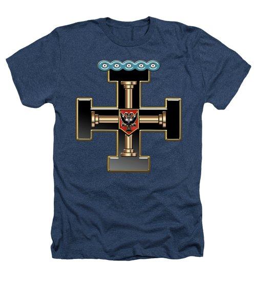 27th Degree Mason - Knight Of The Sun Or Prince Adept Masonic Jewel  Heathers T-Shirt
