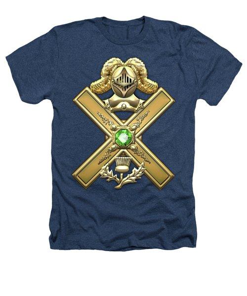29th Degree Mason - Scottish Knight Of Saint Andrew Masonic Jewel  Heathers T-Shirt by Serge Averbukh