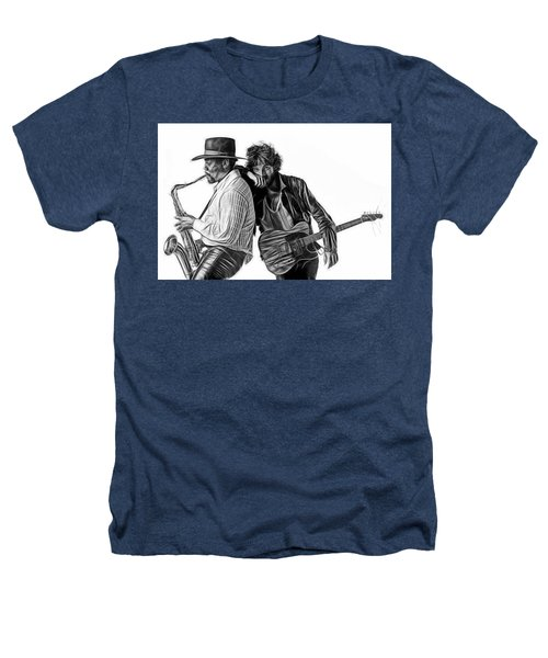 Bruce Springsteen Clarence Clemons Collection Heathers T-Shirt