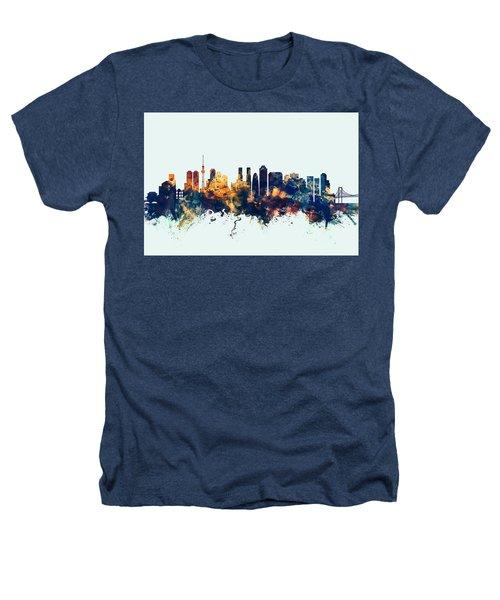 Tokyo Japan Skyline Heathers T-Shirt