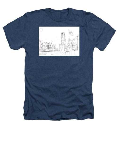 5.2.japan-1-tokyo-skyline Heathers T-Shirt by Charlie Szoradi