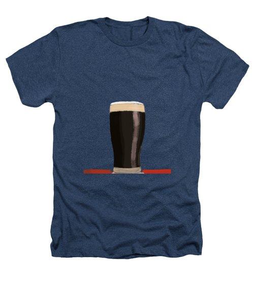 A Glass Of Stout Heathers T-Shirt by Keshava Shukla
