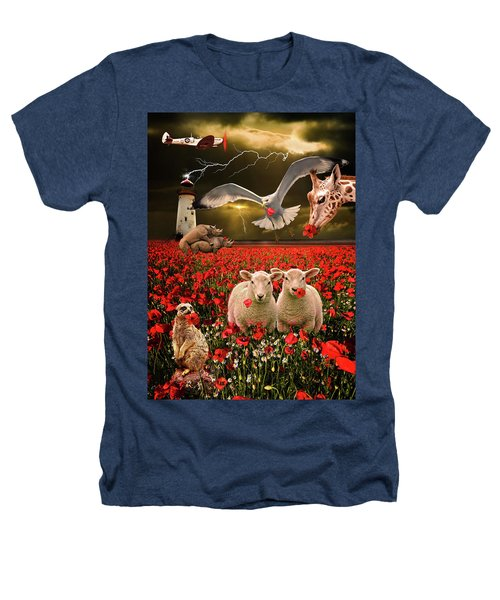 A Very Strange Dream Heathers T-Shirt by Meirion Matthias