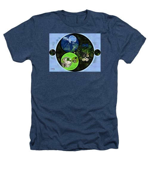 Abstract Painting - Asparagus Heathers T-Shirt