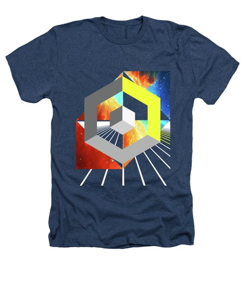 Abstract Space 4 Heathers T-Shirt by Russell K