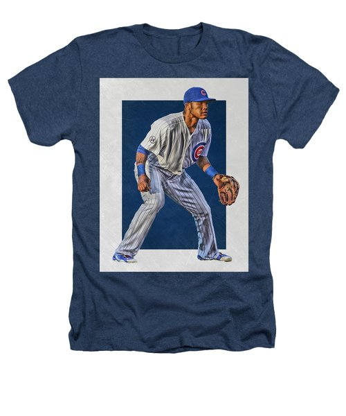 Addison Russell Chicago Cubs Art 2 Heathers T-Shirt