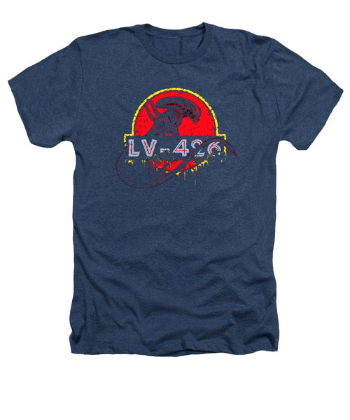 Aliens Planet Lv426 Heathers T-Shirt