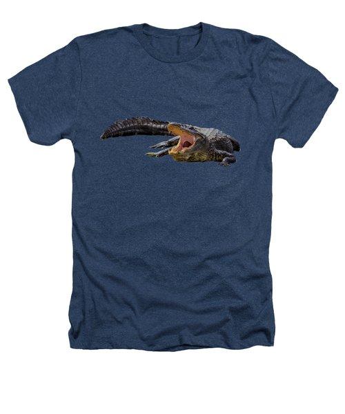 Alligator T-shirts Heathers T-Shirt by Zina Stromberg