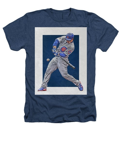 Anthony Rizzo Chicago Cubs Art 1 Heathers T-Shirt