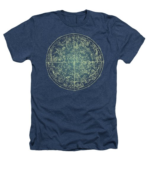 Antique Constellation Of Northern Stars 19th Century Astronomy Heathers T-Shirt
