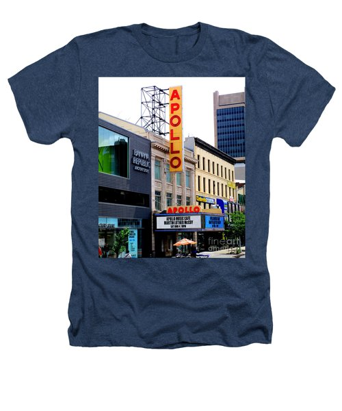 Apollo Theater Heathers T-Shirt by Randall Weidner