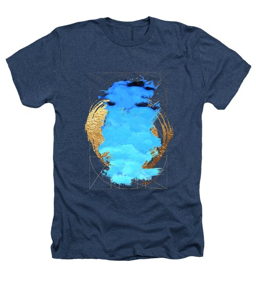 Aqua Gold No. 1 Heathers T-Shirt by Serge Averbukh
