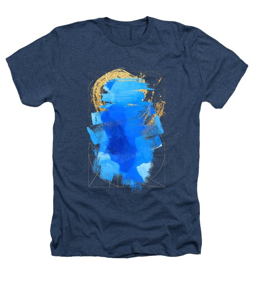 Aqua Gold No. 3 Heathers T-Shirt