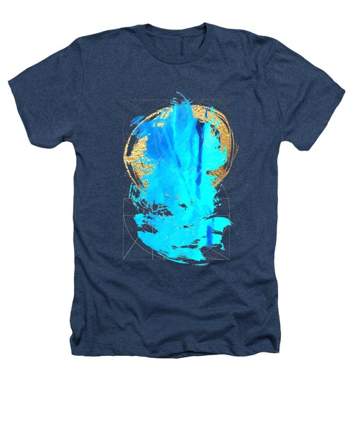 Aqua Gold No. 4 Heathers T-Shirt by Serge Averbukh