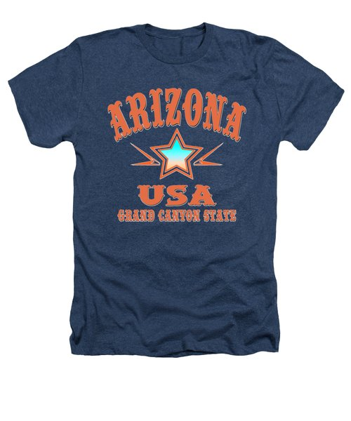Arizona Grand Canyon State Design Heathers T-Shirt