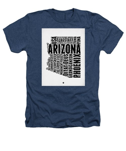 Arizona Word Cloud Map 2 Heathers T-Shirt