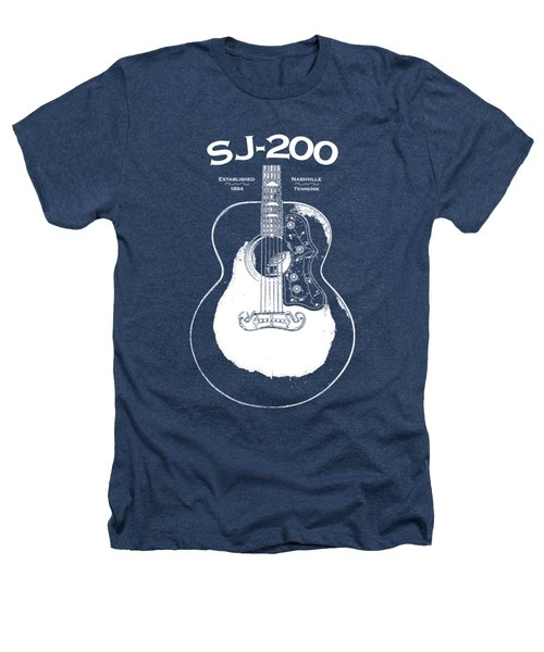 Gibson Sj-200 1948 Heathers T-Shirt by Mark Rogan
