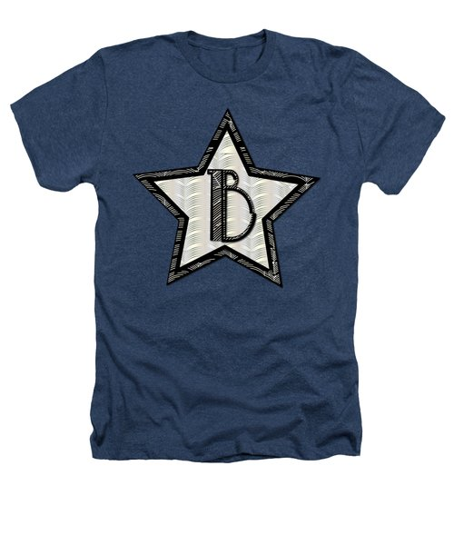 Star Of The Show Art Deco Style Letter B Heathers T-Shirt by Cecely Bloom