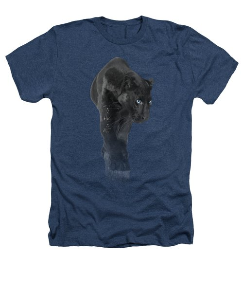 Gorgeous Blue-eyed Panther Heathers T-Shirt
