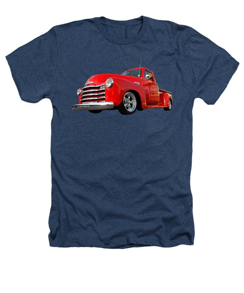 1952 Chevrolet Truck At The Diner Heathers T-Shirt by Gill Billington