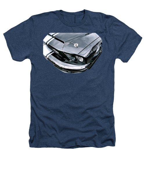 Shelby Super Snake At The Ace Cafe London Heathers T-Shirt by Gill Billington