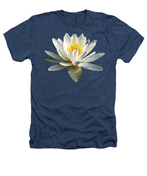 White Water Lily Heathers T-Shirt