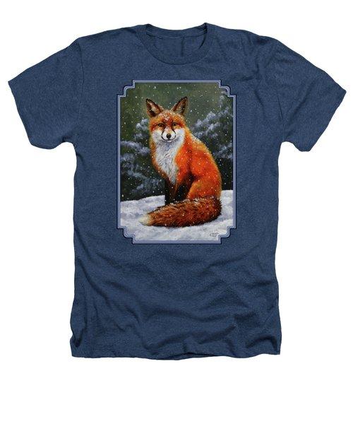 Snow Fox Heathers T-Shirt
