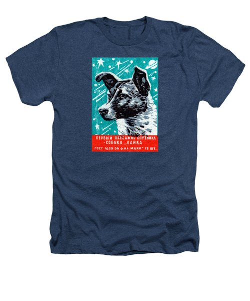1957 Laika The Space Dog Heathers T-Shirt