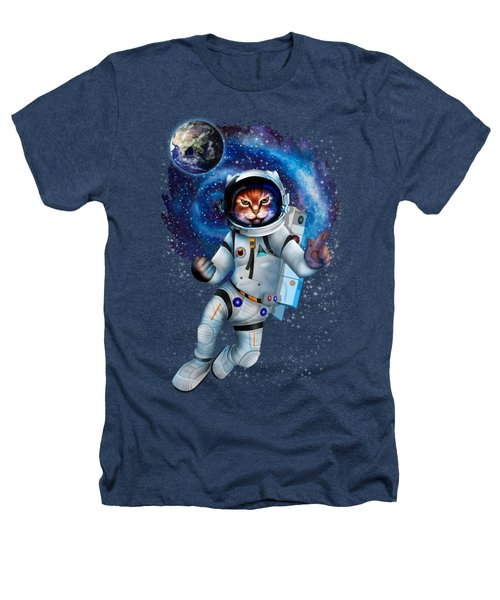 Astronaut Cat Heathers T-Shirt