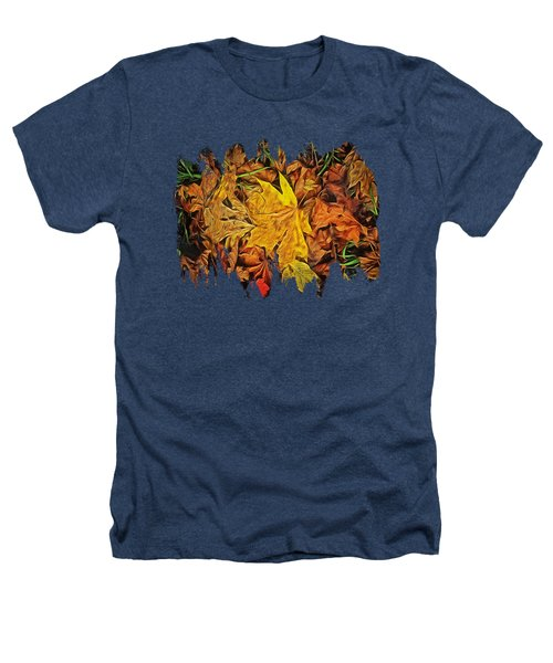 Autumn Leaves Of Beaver Creek Heathers T-Shirt by Thom Zehrfeld