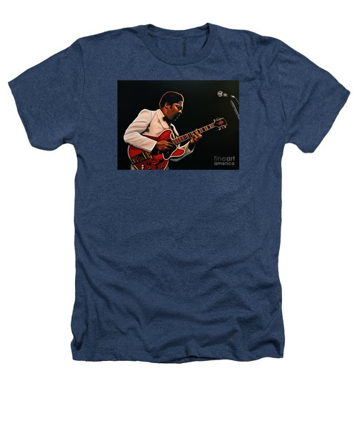B. B. King Heathers T-Shirt by Paul Meijering