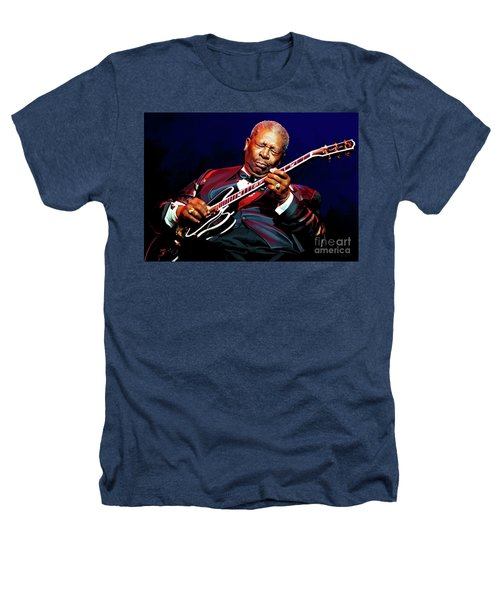Bb King Heathers T-Shirt by Paul Tagliamonte