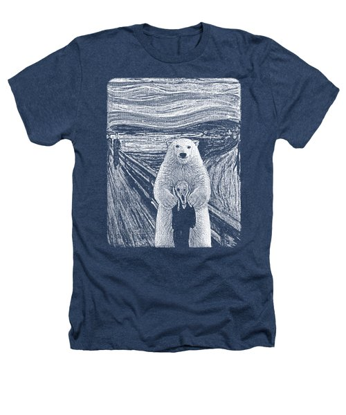 Bear Factor Heathers T-Shirt by Mustafa Akgul