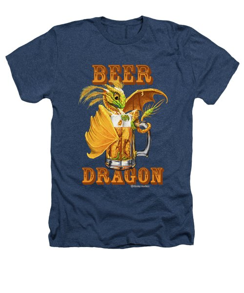Beer Dragon Heathers T-Shirt